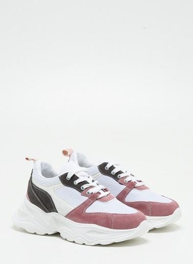 F By Fabrika F By Fabrika Angel Yüksek Topuk Bağcıklı / Kadın Sneaker Renkli
